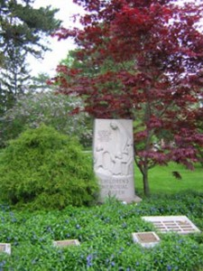 Memorial Garden in Guelph Ontario
