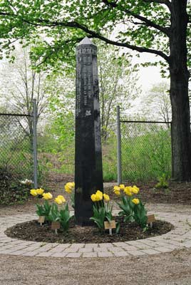 Peace Pole Garden in Guelph
