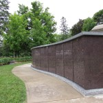 niche wall at Woodlawn Memorial Park