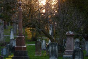 graveyard at woodlawn memorial park