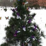 Angel tree at Woodlawn Memorial Park in Guelph