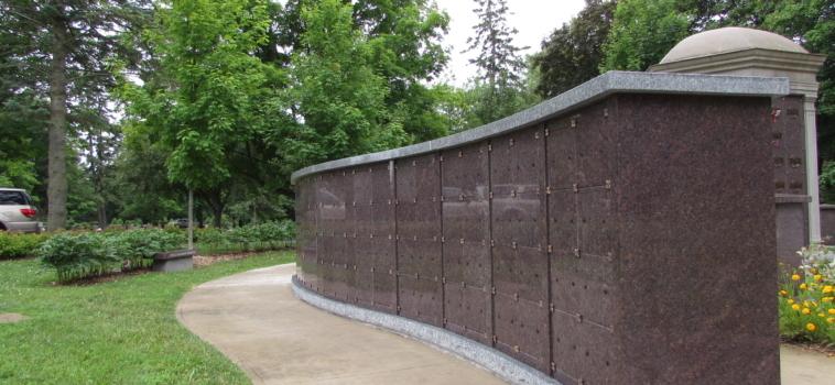New Niche Wall