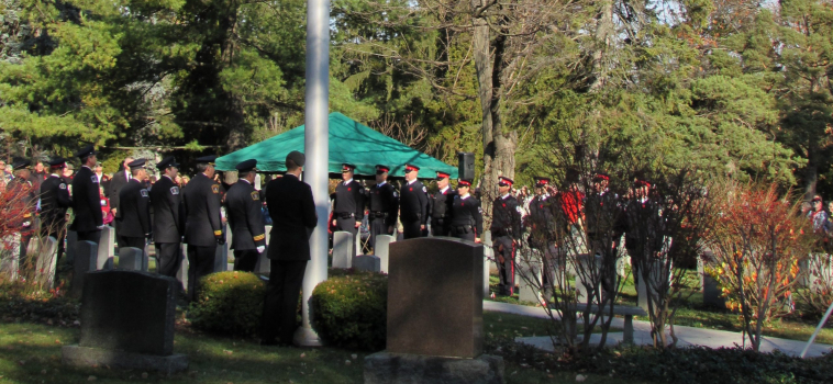 Remembrance Day at Woodlawn Memorial Park
