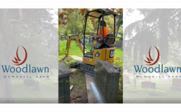 How We Prepare and Pour A Foundation for a Monument